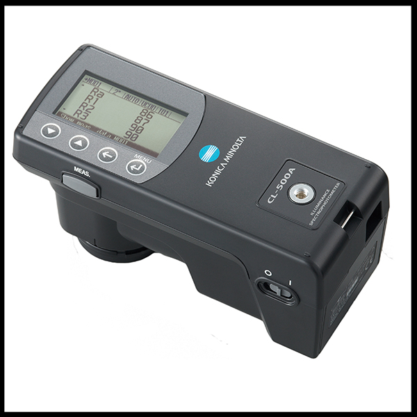 How To Measure CRI And Illuminance With The 500 Series Spectrophotometer  20/05/2013