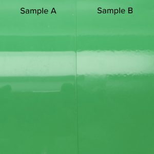 Peak Specular Reflectance (RSpec) Panel example